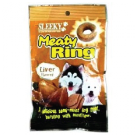 Sleeky meaty ring liver 70g.