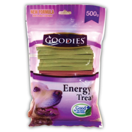 goodies energy treats รวมรส 500g