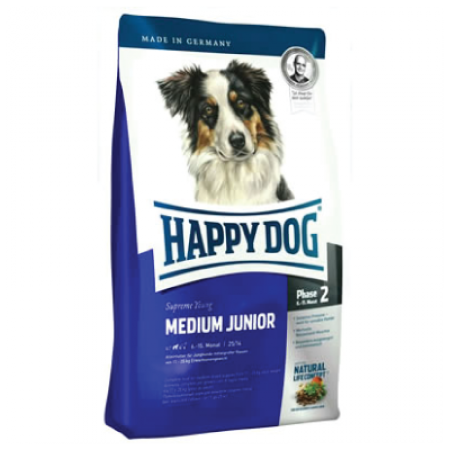 Happy dog medium junior 4kg