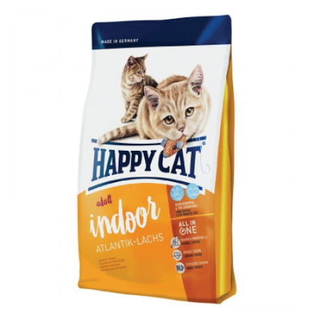 Happy Cat Supreme Indoor Atlantik-Lachs  300g