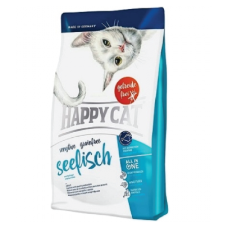 Happy Cat - Sensitive Grainfree Seetisch 4kg