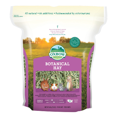 Oxbow Animal Health Botanical Hay for Pets, 15-Oz